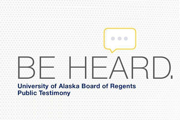 Public Testimony