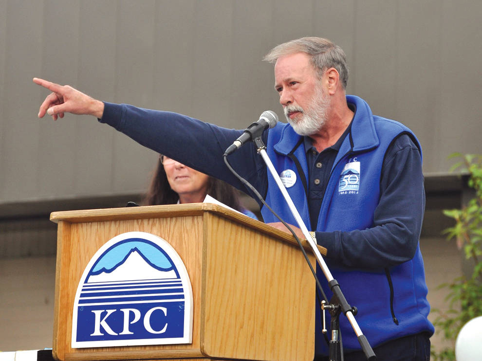 Gary Turner, director Kenai Peninsula College