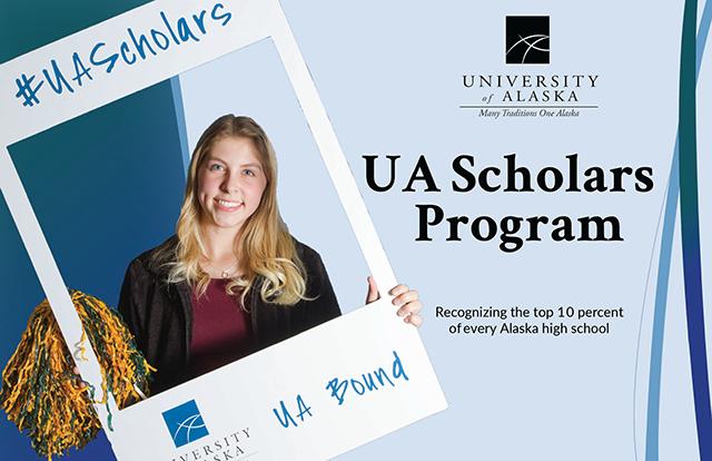 UA Scholars Program recognizes Alaska's top ten percent of high school graduate