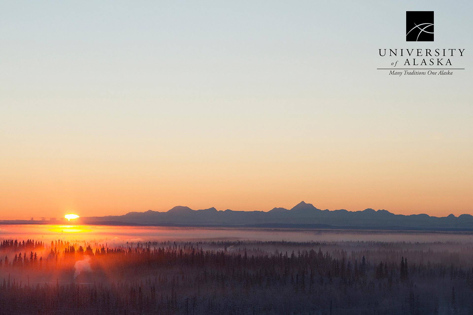 Alaska Range scenic