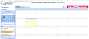 Calendar view example picture