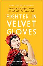Book cover - Fighter in Velvet Gloves