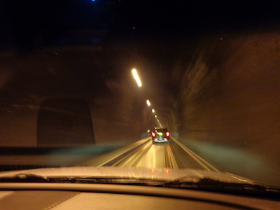 Whittier tunnel