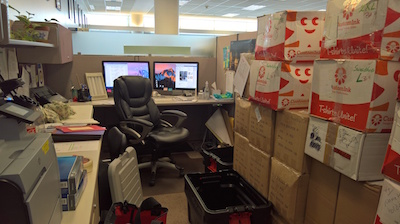 Barbaras cubicle