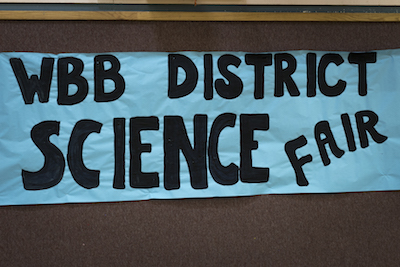 Science Fair Sign