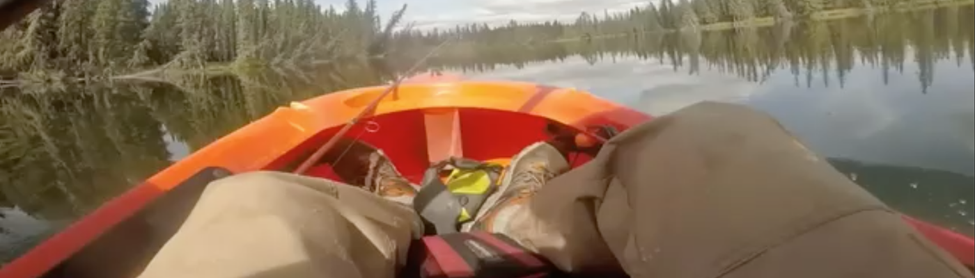 Floating down the Yukon