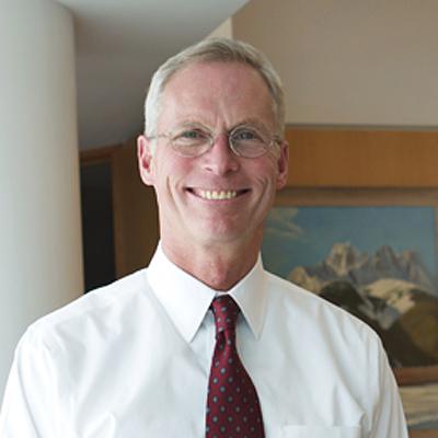 UA President Jim Johnsen