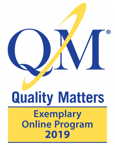 Quality Matters Exemplary Online Program