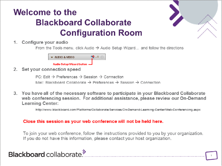 Blackboard Collaborate Office Of Information Technology