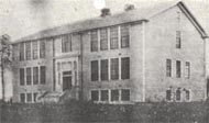 "The ""Old Main"" constructed in 1918 equipped and ready for occupancy on September 18, 1922."