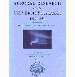 Auroral research by Veryl Fuller and Ervin Bramhall was published in 1937.