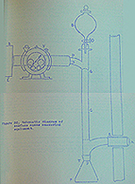 Diagram of surface ozone measuring equipemtn by A.L. Fitzgerald. Photo: Geophysical Institute