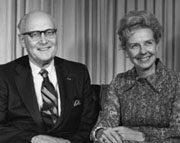 Dr. Wood and his wife, Dorothy Jane Irving Wood.
