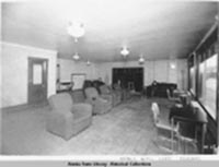 Nordale Hotel Lobby Fairbanks. Alaska State Library, Historical Collections, Skinner Foundation